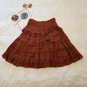 Lithe Anthropologie Skirt Size 8